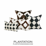 Ace Cowhide Pillows