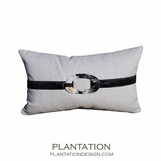 Buckle Pillow | Light Grey