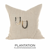 Wavery Linen Pillows | Square