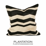 Wavy Cowhide Pillows