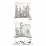 Kingdom Linen Pillow | Square