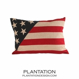 Patriot Linen Pillow