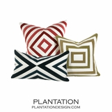 Montage Geometric Velvet Pillows