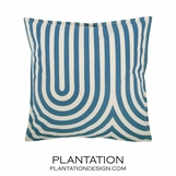Endless Summer Pillow | Turquoise