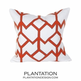 Orlando Linen Pillows | Orange