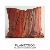 Sunset Linen Pillow | Square