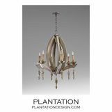 Etienne Wood Chandelier | No. 2
