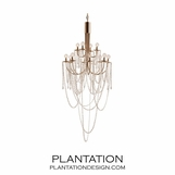 Mel Glass Chandelier