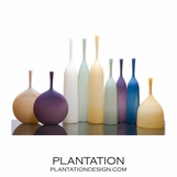 Hues Opaque Bottle Vases | No. 1