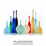 Hues Opaque Bottle Vases | No. 2