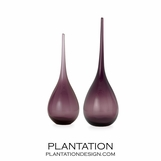 Ibiza Glass Vases | Purple