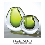 Limon Artist Glass Vases