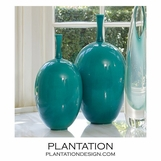 Mystique Ceramic Vases | Teal