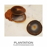 Bahia Agate Coasters | Natural & Edged