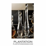 Swan Glass Decanters