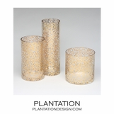 Triangulo Vases | Gold