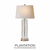 Puck Crystal Table Lamp | Short