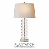 Puck Crystal Table Lamp | Tall