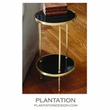 Cadette Table | Antique Brass