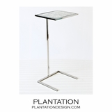 Carlo Cocktail Table | Nickel