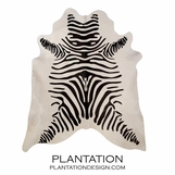 Cowhide Rug | Black Zebra & Off-White