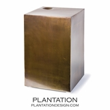 Oren Side Table | Antique Brass