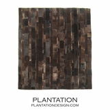 Cowhide Rug | Patchwork Chocolate