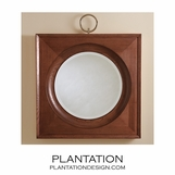 Port Mirror | Dark Oak