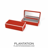 Lacquer Trinket Box | Bright Red
