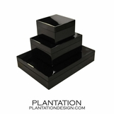 Lacquered Boxes | Black