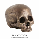 Cranio Metal Skull No. 3 | Aged Brass
