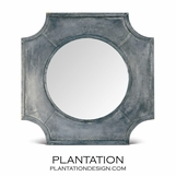 George Zinc Square Mirror