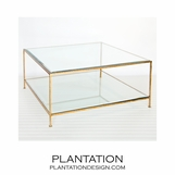 Ithaca Coffee Table | Gold