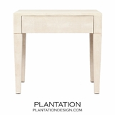 Emmett 1-Drawer Side Tables | Ivory