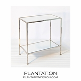 Irving Side Table | Nickel