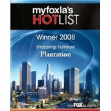 Voted best Furniture Store 2008 Fox News