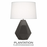 Burke Ceramic Lamp | Grey