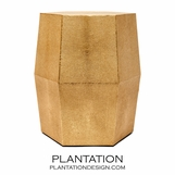 "Hex ""Shagreen"" Stool 