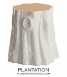 Trunk Stool | White