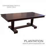 Croft Contemporary Dining Table | Trestle