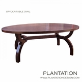 Spyder Oval Dining Table