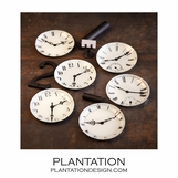 Timepiece Trays | Set of 6