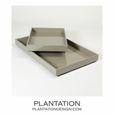 Ming Trays | Grey