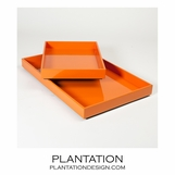 Ming Trays | Orange