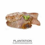 Stone Slab Trays | Calcedonia