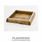 Frontier Wood Trays | Square