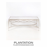 Chastity Coffee Table | Silver Leaf