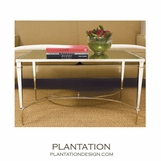 Parliament Coffee Table | Nickel