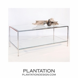 Petra Coffee Table | Nickel