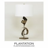 Rosina Table Lamp | Antique Brass